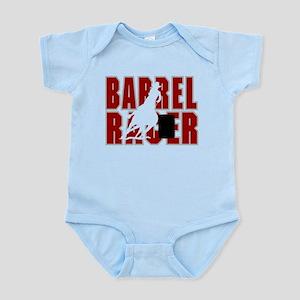 BARREL RACER [maroon] Infant Bodysuit